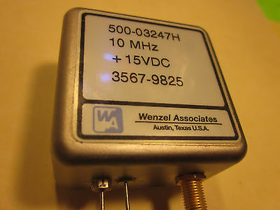10MHz Reference Low Noise Wenzel 500-03247H