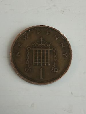 1973 New Penny Coin UK Rare 1p