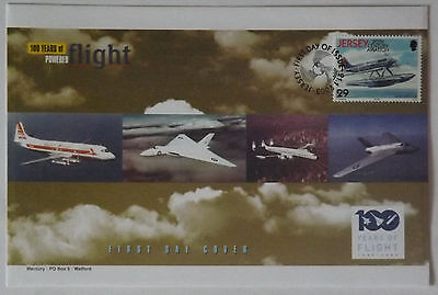 100 Years of Flight First Day Covers