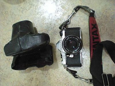 Pentax ME Super 35mm SLR Film Camera with 50mm lens Kit