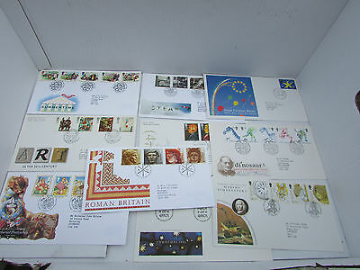 10 Various First Day Covers.