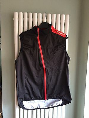 Planet x Cycling  rain gilet vest size L