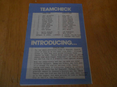 Luton Town Reserves V Ipswich Town Reserves - 30Th September,1989