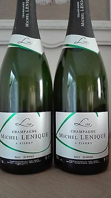 Lot de CHAMPAGNE Brut - Michel LENIQUE