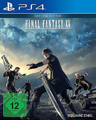 Final Fantasy XV - Day One Edition (Sony PlayStation 4, 2016)