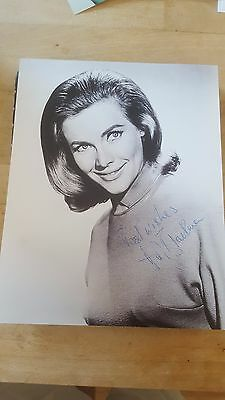 Honor Blackman Signed Photo - Bond Girl