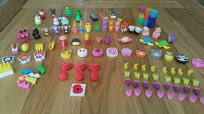 Large Collection of Rubbers/erasers