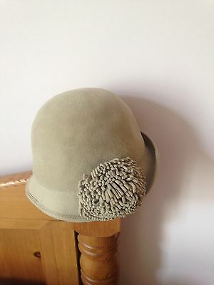 Vintage French Cloche Hat