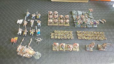 warhammer fantasy/9th age ogre army painted and based