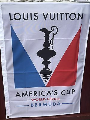 America's Cup 2017 World Series Bermuda Banner [Louis Vuitton] ~ Fast Shipping!