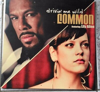"Common feat Lily Allen - Drivin' Me Wild 12"" 2007"