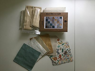 Cot Quilt Kit By Totally Patched
