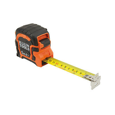 Klein Tools 86315 5 M Double Hook Magnetic Tape Measure - Metric