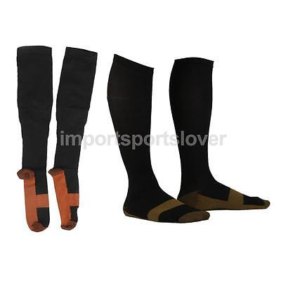 2 Pair Orthopaedic Compression Socks Stockings Graduated Support Pain Relief