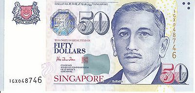 Singapore, ND(1999) 50 Dollars P41  ((Choice UNC))