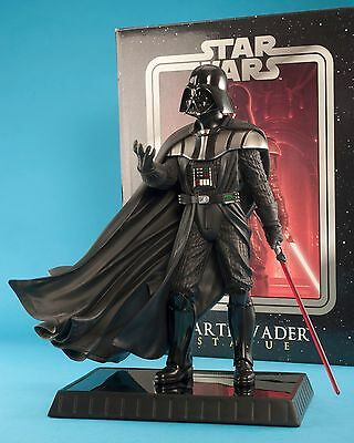 "Star Wars Revenge of the Sith Darth Vader 15"" Statue Gentle Giant COA NR"