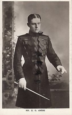 WW1 Officer Captain H G Amers Northumberland Hussars AVC Palace Pier Brighton