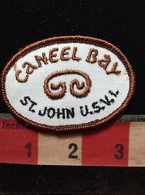 CANEEL BAY UNITED STATES VIRGIN ISLANDS Jacket Patch 76FF
