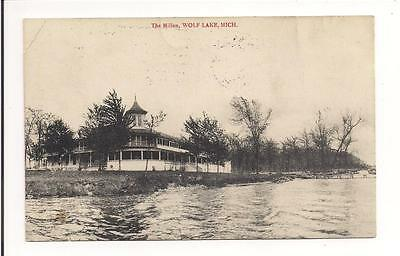 The Millen, Wolf Lake, Michigan,  1911 !