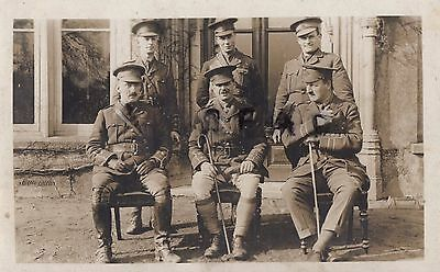 WW1 Officer group RAMC Royal Army Medical Corps Thornage Hall Holt Norfolk