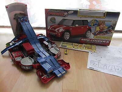 Micro Machines Mini Cooper Race City Playset With Box And Instructions