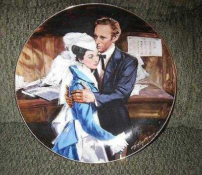 """Gone With The Wind Collector Plate, """"A Question of Honor"""", W.L.George"""