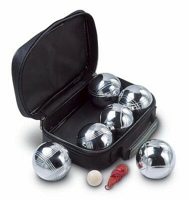 6 Stainless Steel French Boules Set Petanque Balls Original -FREE SHIPPING