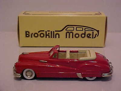 BROOKLIN MODELS 1948 BUICK R/MASTER AUSTRALIAN Limited Edition RED  Mint Boxed