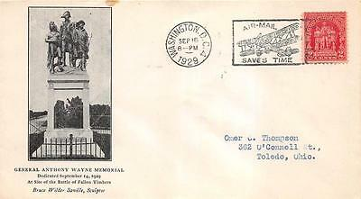 680 2c Battle of Fallen Timbers, 3rd Day Cover Cachet [E233174]