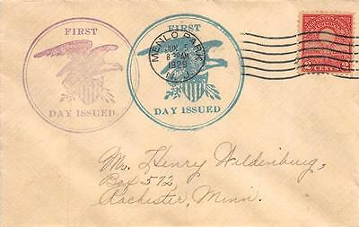 654 2c Electric Light Jubilee, First Day Cover Cachet [E233138]