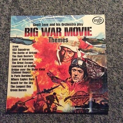 Big War Movie Themes - Geoff Love & Orchestra LP MFP 5171