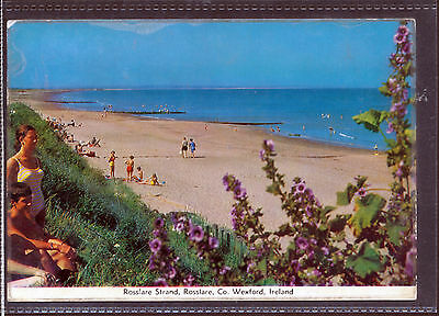 Ireland old Postcards Rosslare Strand Co Wexford Cardall Posted