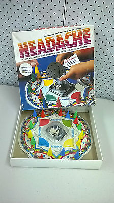 headache popomatic game complete 1980's original CBS Toys