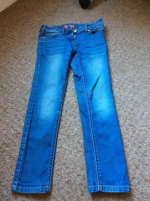 Next Girls Blue Jeans 9 Years