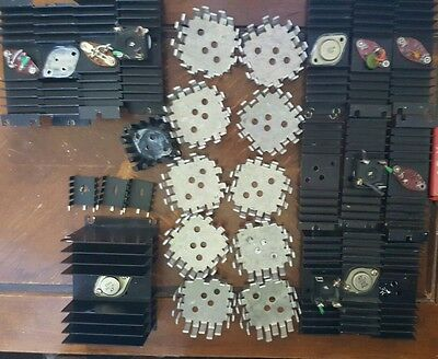 Lot of 28 various  Heat Sinks? Pre owned, EUC