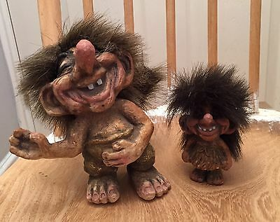 Vintage Collectable Ny Form Norwegian Trolls