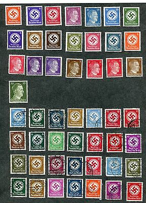 Stamp Lot Of Germany, Mnh, Mh And Used, (2 Scans)