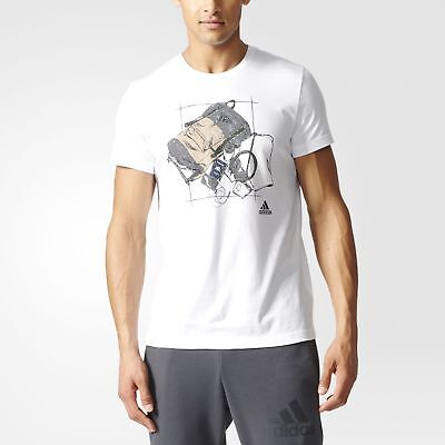 adidas Travel Tee Men's White