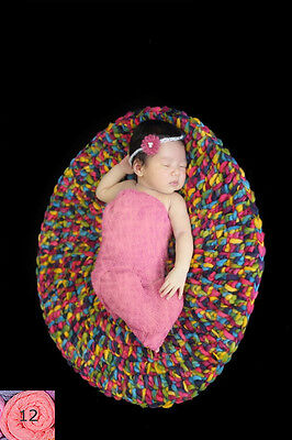 Newborn baby infant wraps swaddle Cheesecloth Photography photo prop GB12