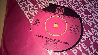"JOE DOLAN - I Love You More And More Each Day - IRISH SHOWBAND POP 7"" 1965"
