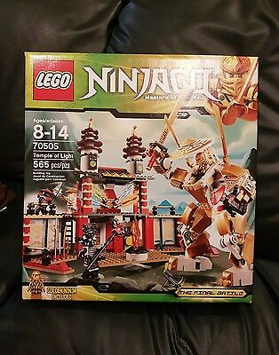 Lego Ninjago Temple of Light complete and sealed