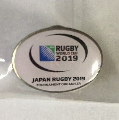 Rugby World cup 2019 JAPAN pin badge limited from Japan still sealed