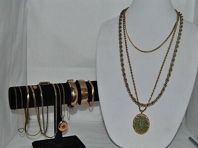 Fantastic Collection Of 12 Gold Filled and Gold Plated Jewelry