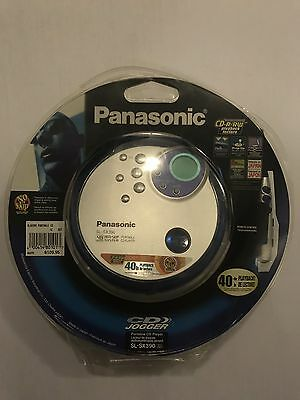 Panasonic SL-SX390 Personal Portable CD Jogger Player With Remote Control