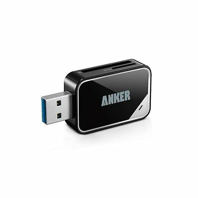 Anker USB 3.0 Card Reader 8-in-1 for SDXC, SDHC, SD, MMC, RS-MMC, and more