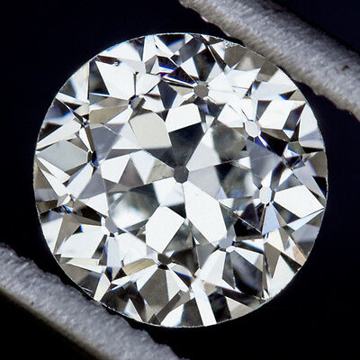 GIA CERTIFIED VINTAGE 3/4ct OLD EUROPEAN CUT DIAMOND LOOSE H SI2 ANTIQUE 0.73ct