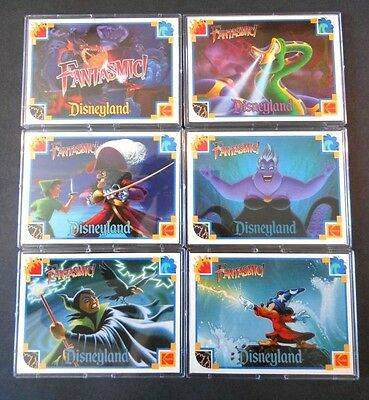 "Very Rare 1990's Kodak ""fantastic"" Disneyland Trading Card Set"