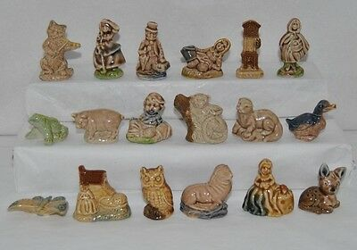 Nice Collection Of 18 Red Rose Tea, Wade Figurines Lot #3