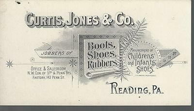 VTC - CURTIS, JONES & CO. Reading, Pa - Boots, Shoes & Rubbers