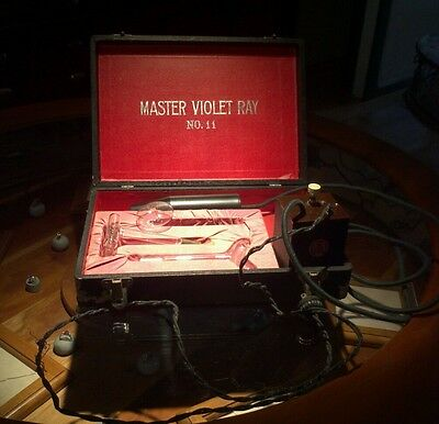 Master Violet Ray complete working set